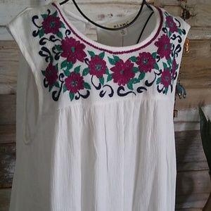Francesca's Collections Dresses - Miami Francesca's Boho Embroidery Dress
